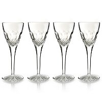 WATERFORD CRYSTAL COLLEEN CORDIAL GLASS SET OF FOUR