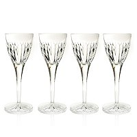 WATERFORD CRYSTAL KIRIN CORDIAL GLASS SET OF FOUR