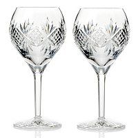 WATERFORD CRYSTAL ALENA RED WINE PAIR