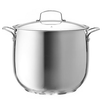 431-340 - Macy's Tools of the Trade® Belgique® Stainless Steel Covered Stockpot