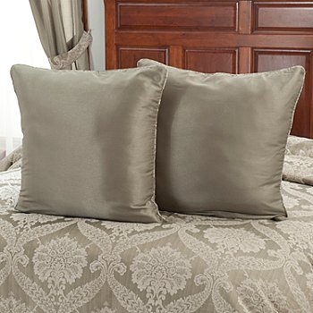 431-350 - North Shore Linens™ ''Jillian'' Euro Sham Pair