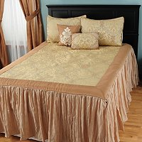 """Tatiana"" 5pc Bedspread Set"