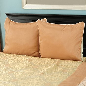 431-354 - North Shore Linens™ ''Tatiana'' Euro Sham Pair