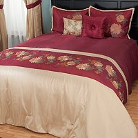 """Mums"" 5pc Bedspread Set"