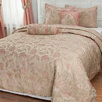 """Legacy Rose"" 5pc Bedspread Set"