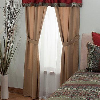 431-373 - North Shore Linens™ ''Terraza'' Four-Piece Window Set