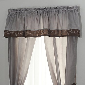 431-377 - North Shore Linens™ ''Triomphe'' Window Valance