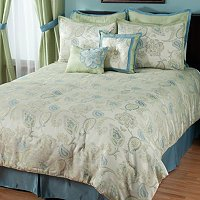 """Minorca"" 8pc Bedding Ensamble"