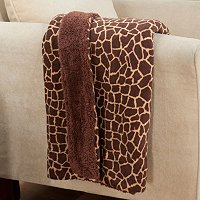 "Cozelle 50"" x 60"" Sherpa Microplush Printed Throw"