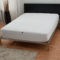The Sharper Image Memory Foam Mattress Pad