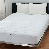 The Sharper Image Memory Foam Mattress Pad and Pillow Protectors