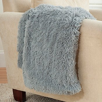 431-416 - North Shore Linens™ 60'' x 50'' Alpine Faux Fur Throw