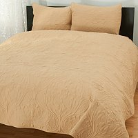 """Foulard"" Quilted 3pc Coverlet Set"