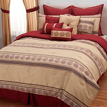 431-499 - North Shore Linens™ ''Westbrooke'' 12-Piece Bedding Ensemble