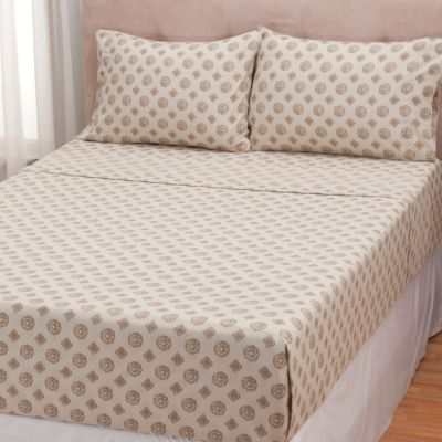 431-503 - Cozelle® Printed Microfiber Four-Piece Sheet Set