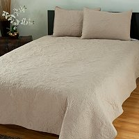"""Marguerite"" Quilted 3pc Coverlet Set"
