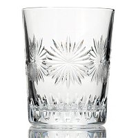 "WATERFORD CRYSTAL SNOWFLAKE ""COURAGE"" DOUBLE OLD FASHIONED"