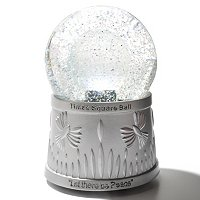 WATERFORD CRYSTAL HOLIDAY HEIRLOOMS TIMES SQUARE SNOWGLOBE