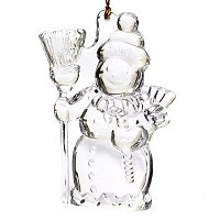 MARQUIS BY WATERFORD 2012 SNOWMAN ORNAMENT