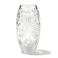 "WATERFORD CRYSTAL IRISH SHAMROCK 10"" VASE"