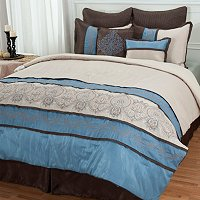 "North Shore Linens ""Sandra"" Comforter Set"