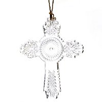 MARQUIS BY WATERFORD EMBELLISHED CROSS ORNAMENT