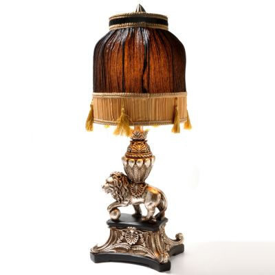 "431-799 - Style at Home with Margie 28.25"" Asian-Inspired Lion Table Lamp"