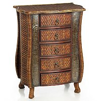 ORISSA RATTAN CHEST OF DRAWERS