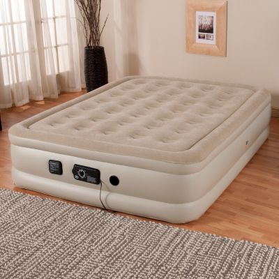 "431-849 - Serta® Perfect Sleeper® 18"" Profile Air Mattress w/ Never Flat™ Pump"