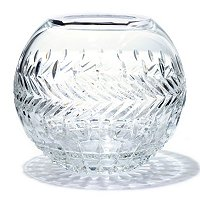 "WATERFORD CRYSTAL MEG 8"" ROSE BOWL"