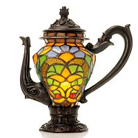 TIFFANY'S TEA TIME ACCENT LAMP