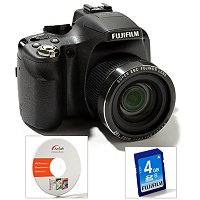 Fuji SL260 Camera with software and SD card