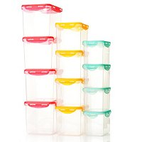 LockStar 12 Piece Nestable Storage Set