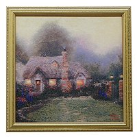 "THOMAS KINKADE ""DAUGHTERS COLLECTION"" FRAMED TEXTURED PRINT"