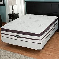 "Simmons Beautyrest Elite ""Weverton"" Plush Pillow Top Mattress Set"