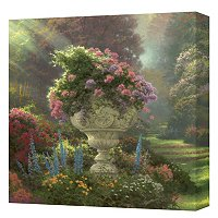 "THOMS KINKADE"" GARDEN OF PARADISE"" 14X14 GALLERY WRAP"