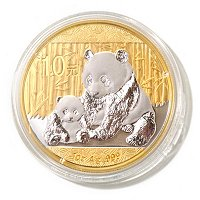 2012 1 OZ China Panda 10 Yuan Gold Select Coin in Display Box