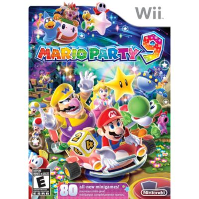 432-128 - Mario Party 9 Nintendo Wii Game