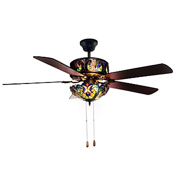 Shophq tiffany style ceiling fan tvshoppingqueens httpshopnbcofferactionviewoffercode432 306icidhs1 ttv432306 042313 aloadofball Gallery