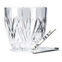 MARQUIS BY WATERFORD BROOKSIDE ICE BUCKET W/ TONGS
