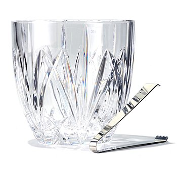 432-525 - Marquis® by Waterford® Brookside 6-1/2'' Ice Bucket w/ Tongs