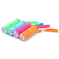Mini Flashlight set of 4 with 6 LED's