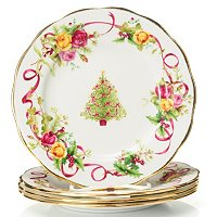 "ROYAL ALBERT OLD COUNTRY ROSES 8"" HOLIDAY SALAD PLATE"