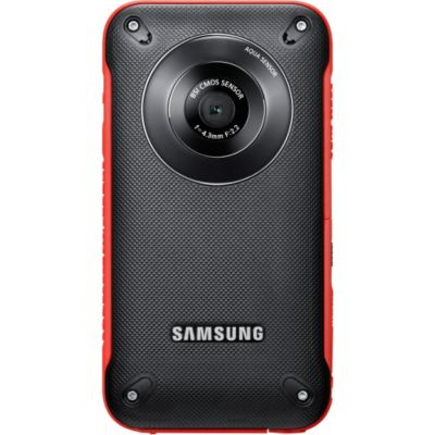 432-666 - Samsung HMX-W300RN/XAA Red Full HD Pocket Camcorder