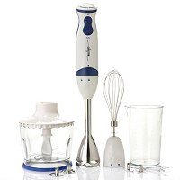 Miallegro 550 Watt Hand Immersion Blender w/ Attachments
