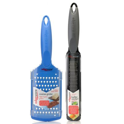 432-673 - Edgeware™ Two-Piece Zester & Coarse Grater Paddle Set