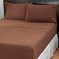 Cozelle Micro Flannel Four-Piece Sheet Set