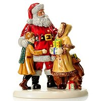ROYAL DOULTON 2012 CHRISTMAS FIGURE OF THE YEAR - CHRISTMAS JOY - SIGNED MD