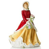 ROYAL DOULTON 2012 FIGURINE OF THE YEAR - WINTERS DREAM - SIGNED MD