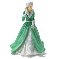 ROYAL DOULTON SILVER BELLS FIGURINE